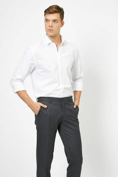 Men's White Shirt 0KAM69141NW