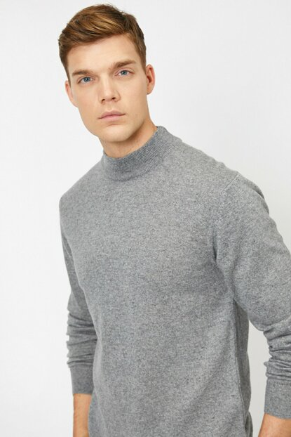 Men's Gray Sweater 0KAM91859DT