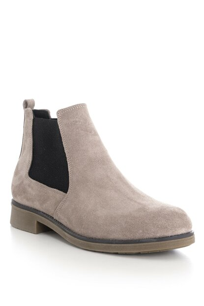 Genuine Leather Beige Men Boots TBDR-1