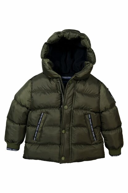 Boys' Coats Inflatable Khaki 10-14 Years Old 18957 M18957HAKI