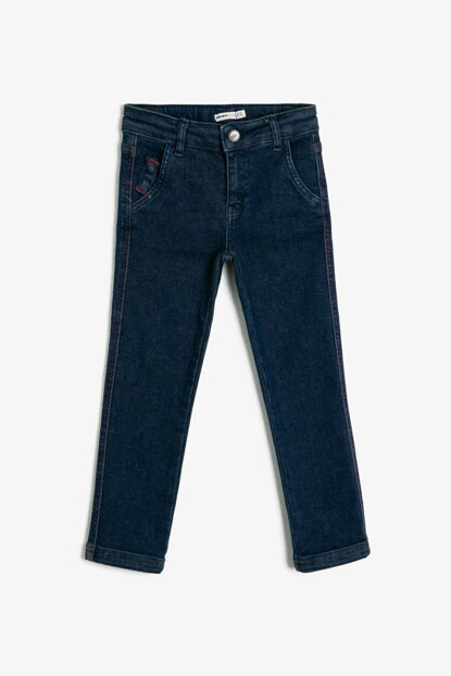 Blue Pocket Detailed Trousers 0KKB46460TW