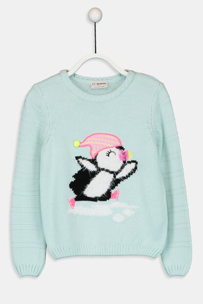 Girl's Mint Ct0 Sweater 9W7979Z4