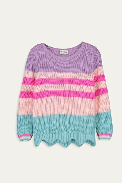 Girl's Pink Cuk Sweater 9W9876Z4