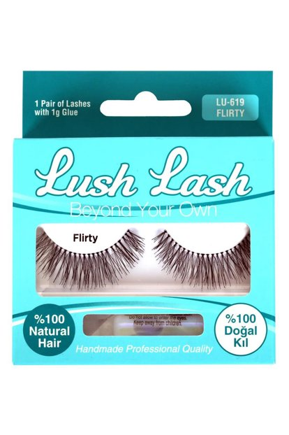 False Eyelashes - LU-619 Flirty 8699067176197