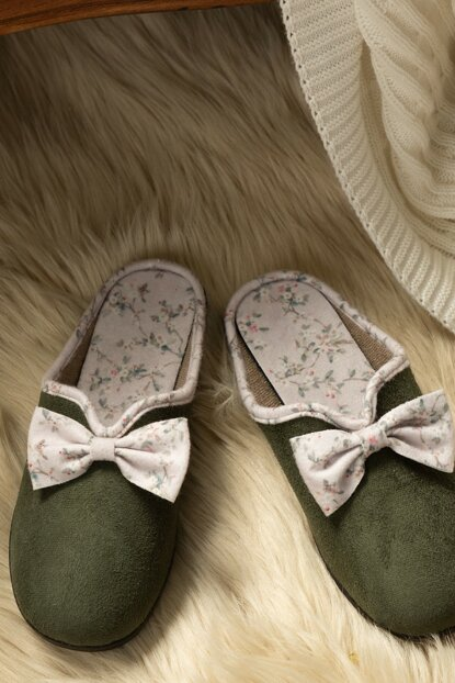 Women's Bow Slippers 1KTERL0326-8682116106696