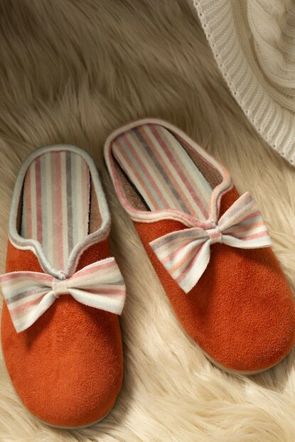 Women's Bow Slippers 1KTERL0326-8682116106702