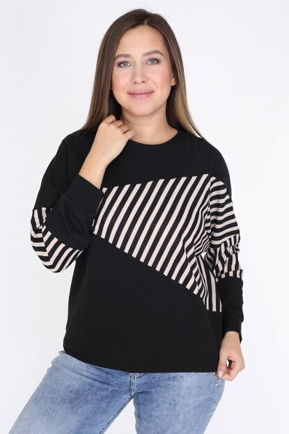 Women's Black Blouse 2308