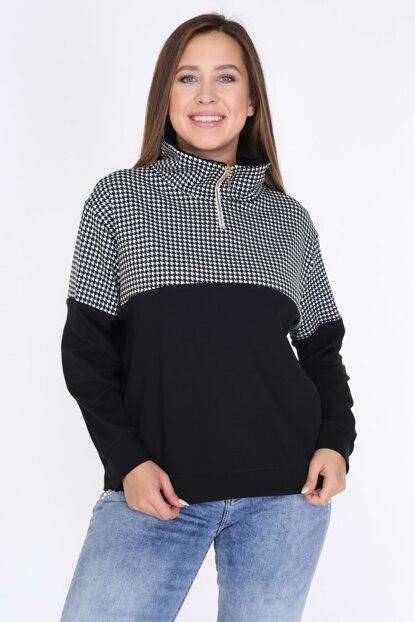 Women's Black Blouse 2303