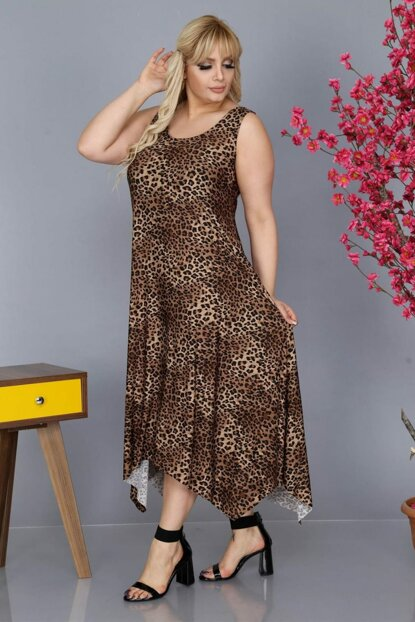 Women Leopard Pattern Imported Micro Dress YE001
