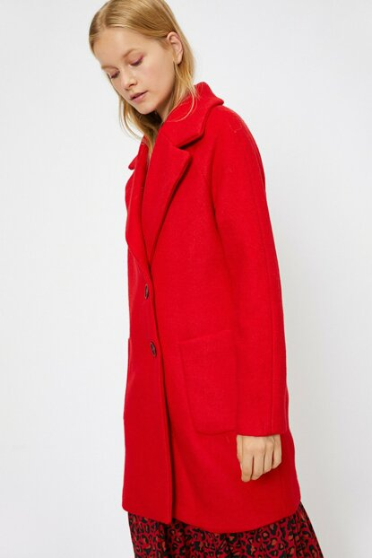 Women's Red Coat 0KAL08331IW