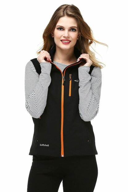 Neon Softshell Women's Vest - Orange 9643637