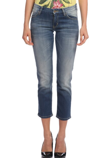 Women's Pants Gu61W61Ad4D21I0-Denim