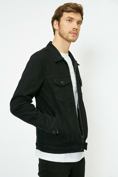 Men's Black Jacket 0KAM53108LD
