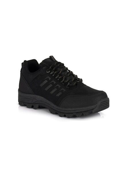 Black Unisex Outdoor Shoes DPRMGMSTPX5