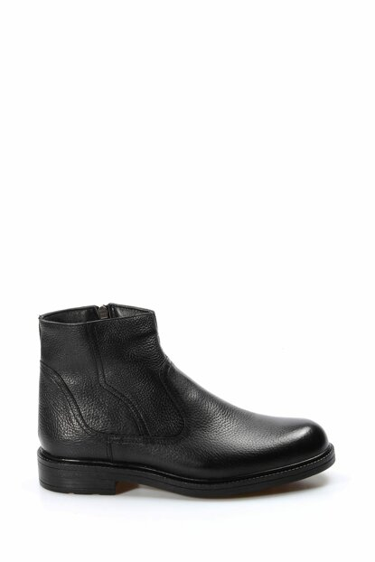 Genuine Leather Black Floter Men Boots & Bootie 1849193