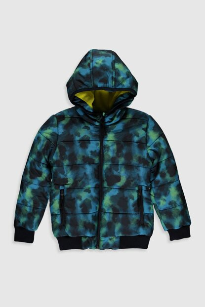 Boys' Oil Printed 774 Coat 9W0970Z4