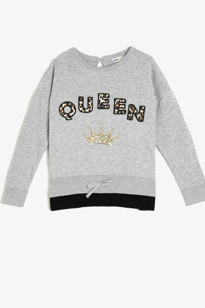 Gray Girl Sweatshirt 0KKG97385HT
