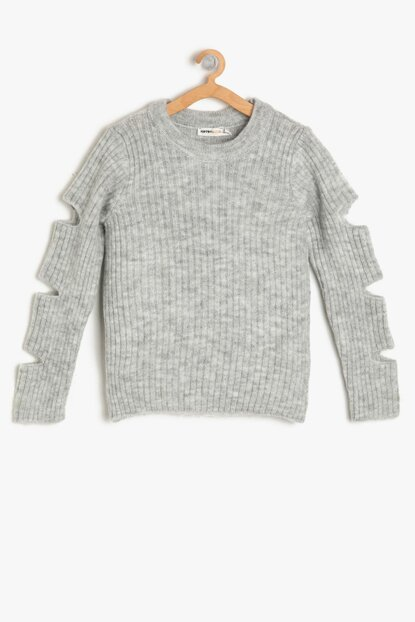Anthracite Girl Sweater 9KKG97167OT