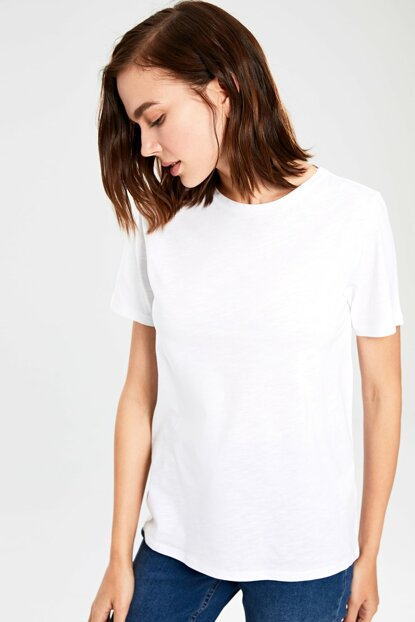 Women's White T-shirt 0S4953Z8