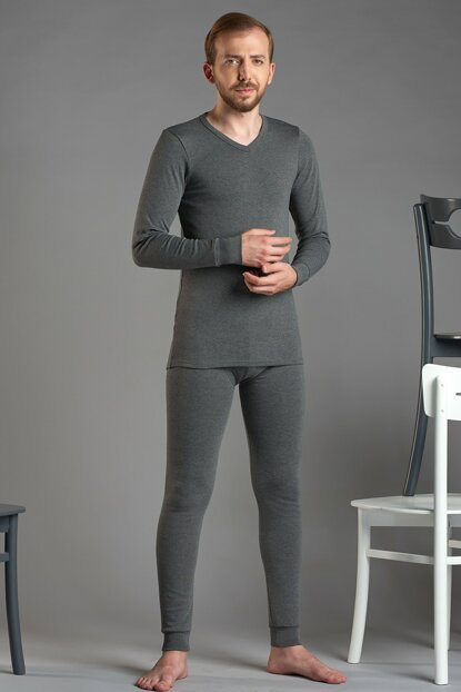 Men's Anthracite Thermal Suit 9119