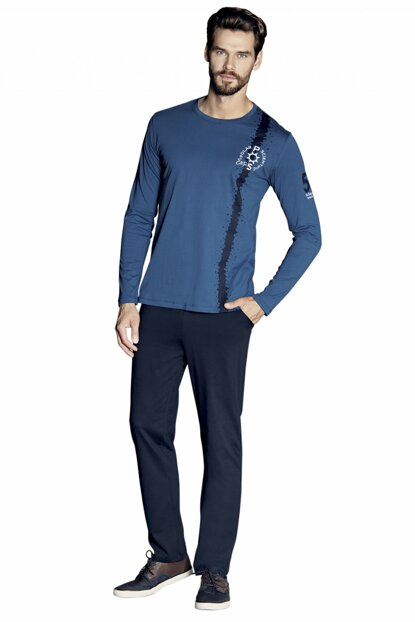 Boys' Long Sleeve New Season Pajamas Set 5373 P52489S8953