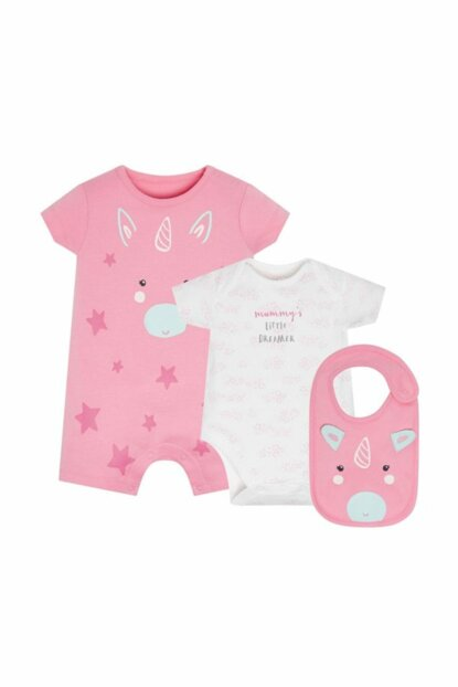 Baby Girl Set of 3 PD494