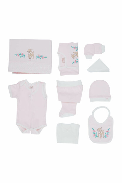 Baby Girl Hospital Outlet 10-Piece Set Pink T576 BBBKT576pink