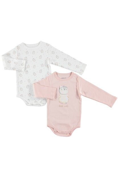 Baby Penguin Theme 2-Piece Long Sleeve Body 19KHBLKBDY080