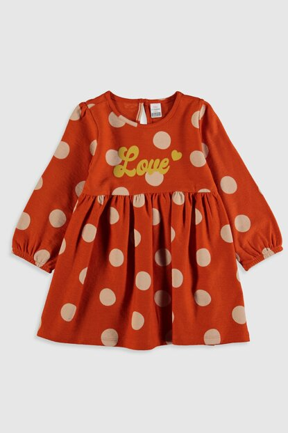 Baby Girl Outdoor Red Bass Ltn Dress 9WT613Z1