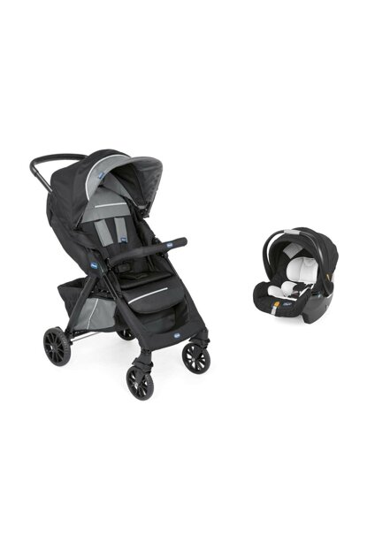Duo Kwik One Travel System Stroller / Jet Black 1007736