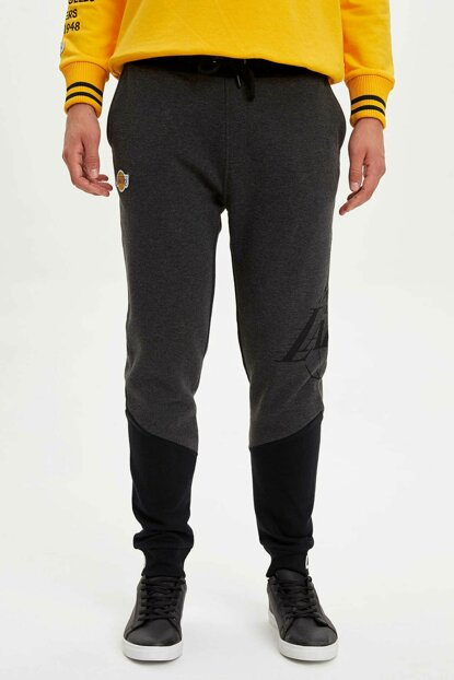 Men's Anthracite NBA Licensed Jogger Pants L2372AZ.19AU.AR160