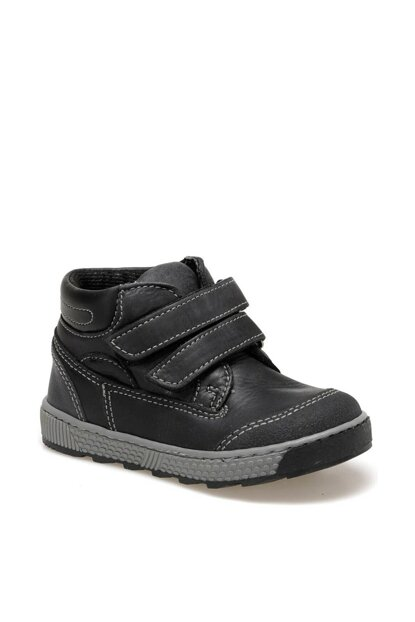 2404D4 Black Boys Shoes