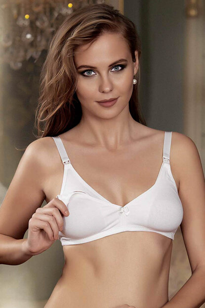 Women Ecru Breastfeeding Bra M8150-ECR M8150-ECR