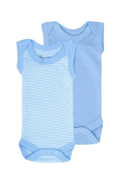 2sets Baby Premature / Newborn Sleeveless Body UYGBB00342