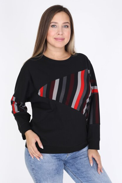 Women's Black Blouse 2309