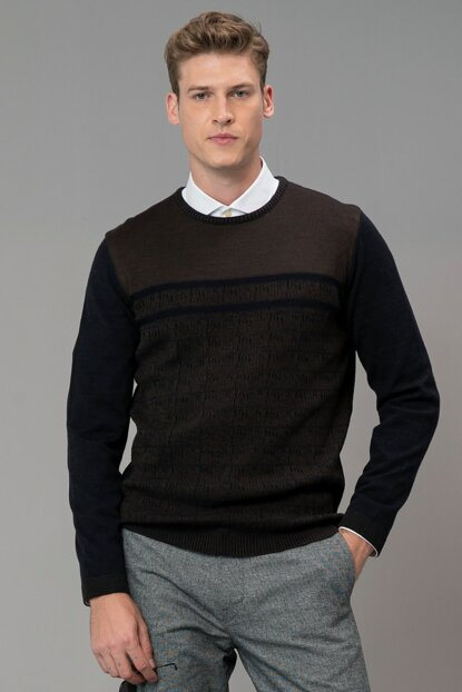Men's Sweaters in the Bar Navy Blue 112090036100200