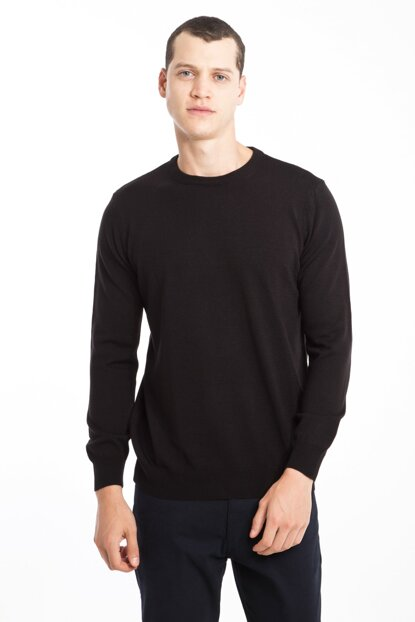 Crew Neck Sweater 81128