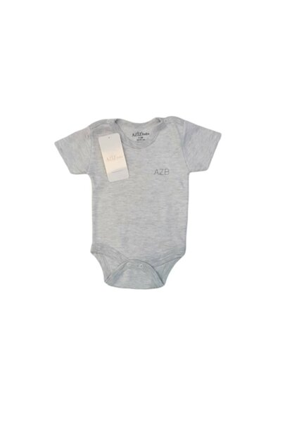 1651 Unisex Baby Azb Embroidered Handle Snap Snap Fastener MNK02376