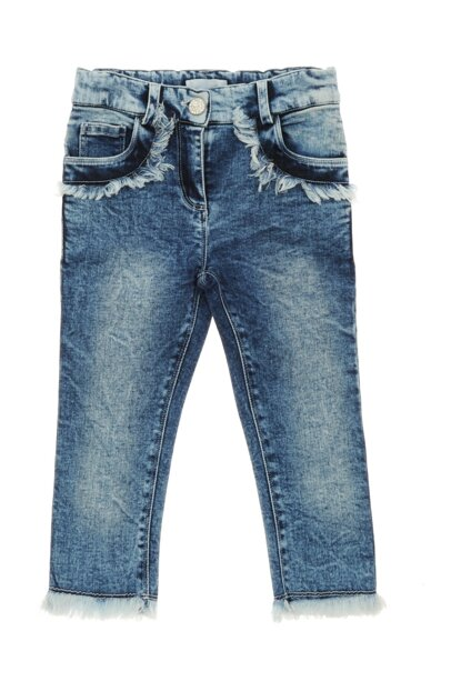 Girls' Denim Trousers 19121054100