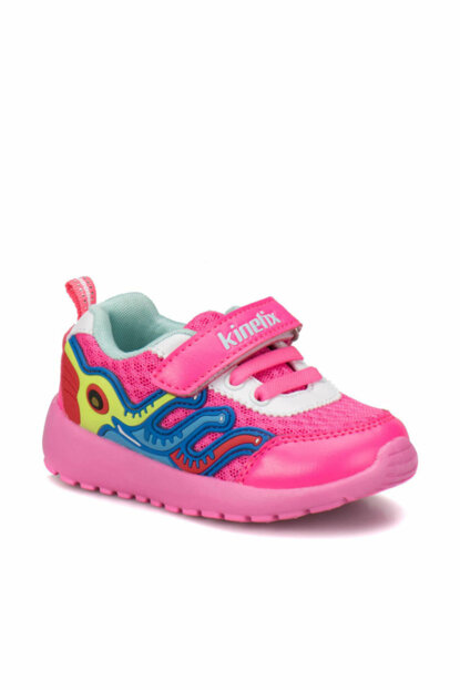 Pink Light Blue Yellow Kids Sneaker 000000000100243165
