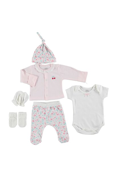 Baby Boxed Sets Cherry 5li Newborn Hospital Outlet 19YBBCKSET015