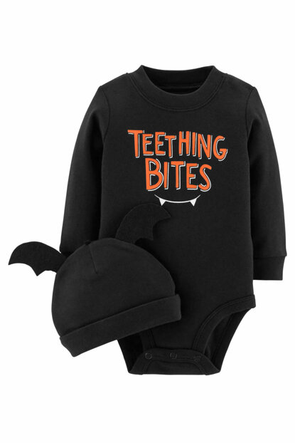 Anthracite Baby Body and Hat 119G360