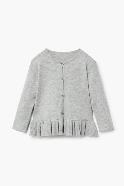 Lightweight Gray Baby Cardigan 33050728