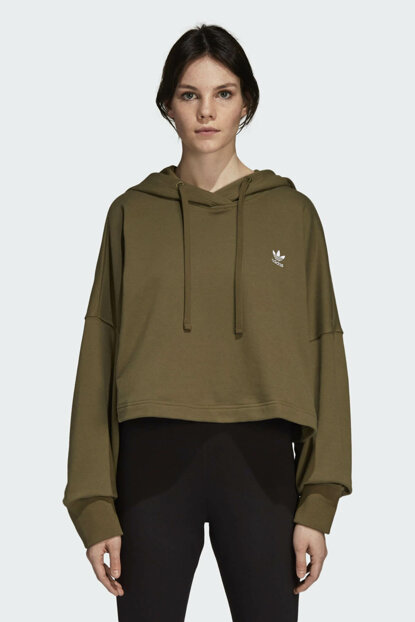 Women's Originals Sweatshirt - Sc Cropped Hood - DH2760