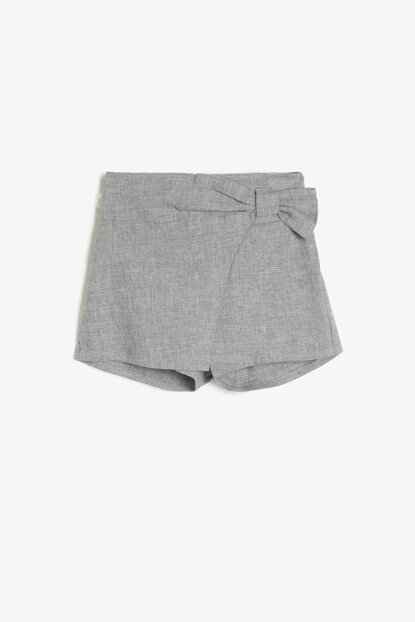 Gray Baby Girl Shorts & Bermuda 0KMG49064ZW