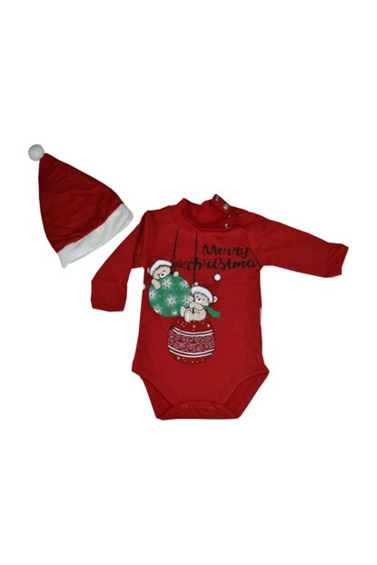 100% Cotton BODYYSAPK New Year Hat with Collar Snaps