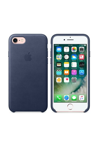 Midnight Blue Leather Case For Iphone 7/8 MMY32ZM / A