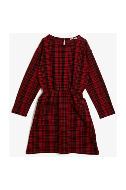 Red Children Dress 0KKG87116OK