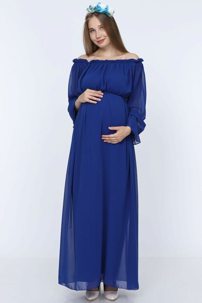 Maternity Dress Saks Blue ML010200X