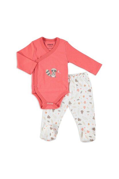Baby Fun Forest Layette Body Boots Bottom 2 Piece Set 19KHBLESET213